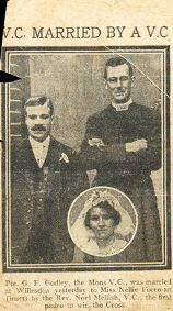 Mellish newspaper clipping