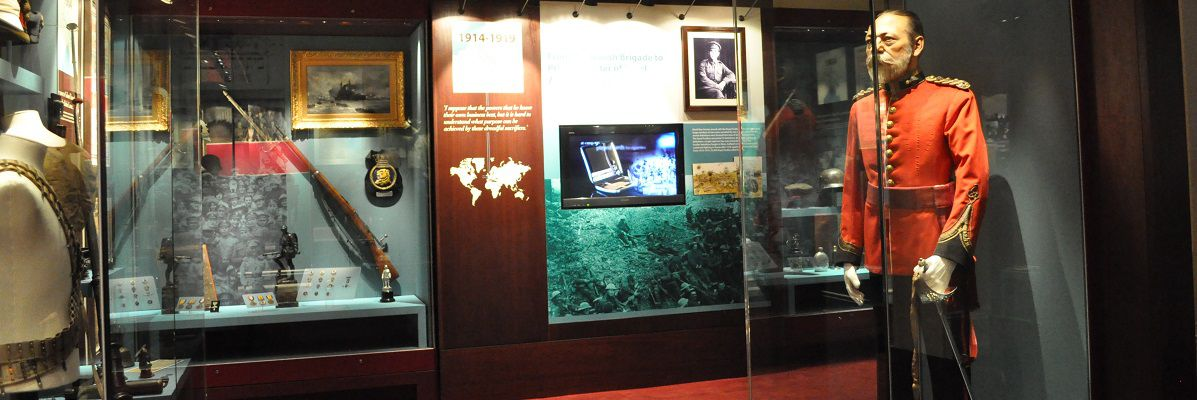 Gallery shot of the Fusilier Museum