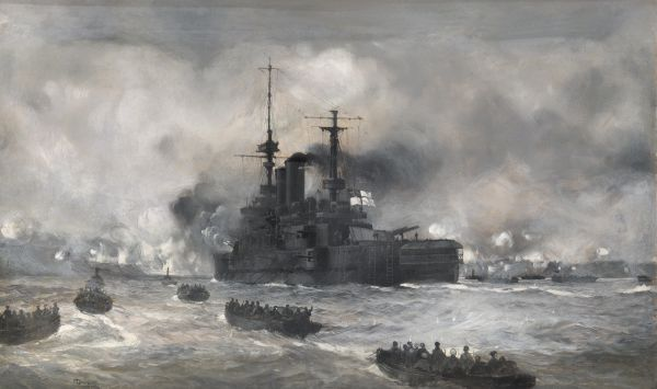 HMS Implacable M Dawson