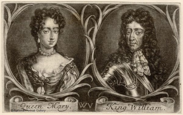 Queen-Mary-II-King-William-III
