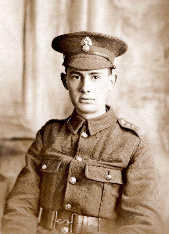 Albert Clayton in uniform